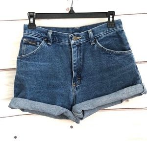 Vintage Wrangler High Waisted Jean Shorts
